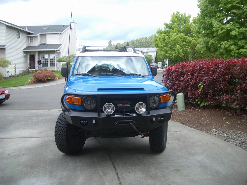 Expedition One Bumper Installed Toyota Fj Cruiser Forum