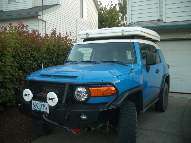 Maggiolina roof top tent roof rack lights question.. - Toyota FJ Cruiser Forum & Maggiolina roof top tent roof rack lights question.. - Toyota FJ ...